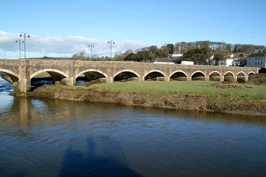 Wadebridge in Cornwall, base of SP Civil Design